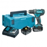 Drill MAKITA DDF482RTJ + 2 battery and charger