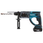 Makita DHR202RTJ Akupuurvasar, 18 V, 2x 5,0 Ah Li-ion, SDS-PLUS, 1,9J, LED