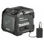 Makita DMR203B Bluetooth kõlar 12V MAX- 18V, LCD, Must,True wireless stereo