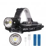 Kiivrilamp/pealam LED Boruit XHP50